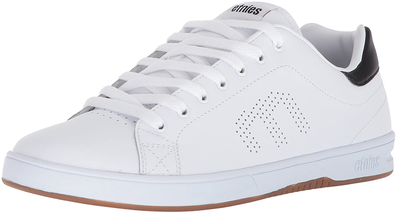 Etnies Mens Men's Callicut LS Skate Shoe 10.5 D(M) US|White/Black/Gum