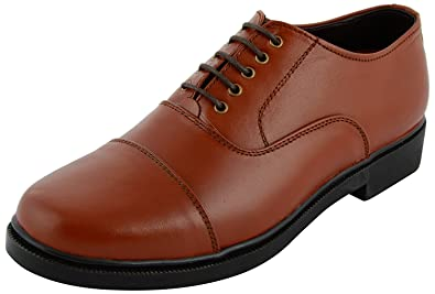 Xy Hugo 8822 Police Shoe Tan Color Mens Leather Formal Shoes Buy