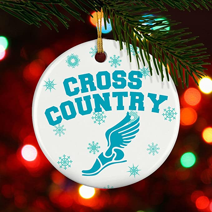 Amazon.com: Gone For a Run Cross Country Porcelain Ornament Cross Country  With Winged Foot: Home & Kitchen - Amazon.com: Gone For A Run Cross Country Porcelain Ornament Cross