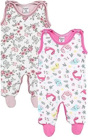 TupTam Peleles para Bebés con Estampados, Paquete de 2