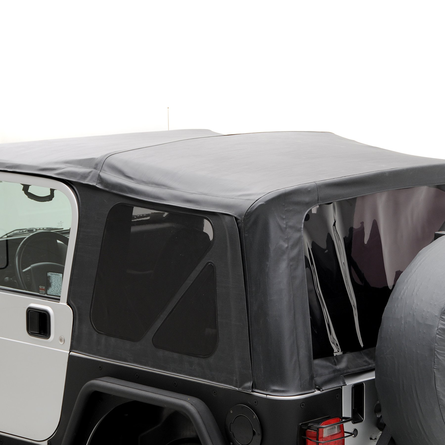 Smittybilt 9970235 Black Diamond OE Style Replacement Top with Tinted Window for Jeep Wrangler by Smittybilt