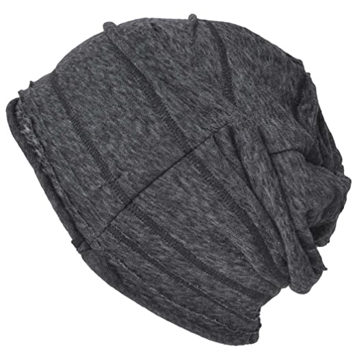 4cb8bf26692 Casualbox Mens Womens Baggy Slouch Beanie Viscose Hat Summer Cool Black 1