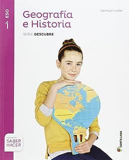 GEOGRAFIA E HISTORIA EXTREMADURA SERIE DESCUBRE 1 ESO SABER HACER - 9788468019055: Amazon.es: Vv.Aa.: Libros