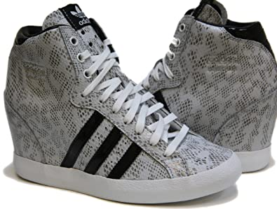 reputable site 5e037 84b67 adidas Originals Basket Profi UP Women Shoes Running WhiteBlack Q21910  (SIZE 5.5