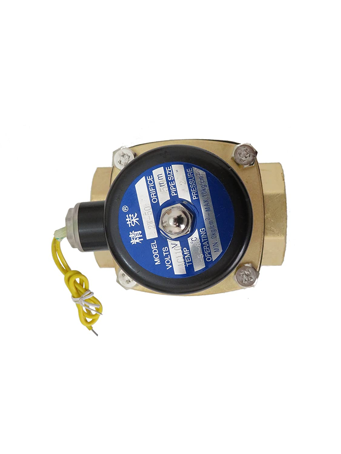 1 x 1-1//4 AQUATROL 560FE-MA80 Safety Valve for Series 560 80 psi 1 x 1-1//4
