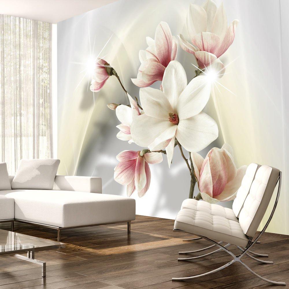 Murando - Fototapete 400x280 cm cm cm - Vlies Tapete - Moderne Wanddeko - Design Tapete - Wandtapete - Wand Dekoration - Blaumen Magnolie b-A-0298-a-c B014JD5VY8 Wandtattoos & Wandbilder 6a9260