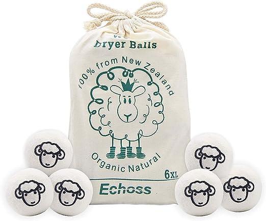 secado de tela suavizante Juego de 2 pelotas de secado de vapor y fragancia para lavander/ía reutilizables de PVC