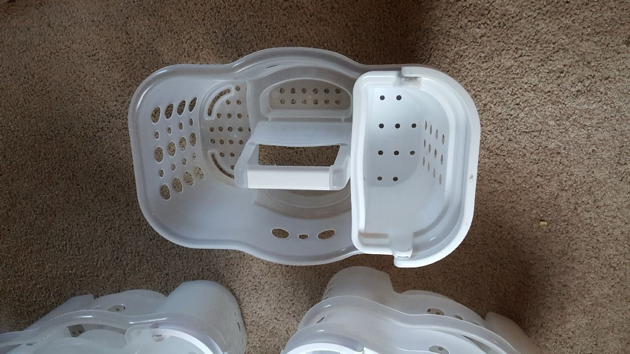 Amazon.com: 2-in-1 Shower Caddy True White - Room Essentials: Home ...