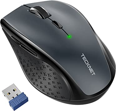 Mac PC Wireless Mouse Adjustable DPI for Notebook Portable 6 Buttons