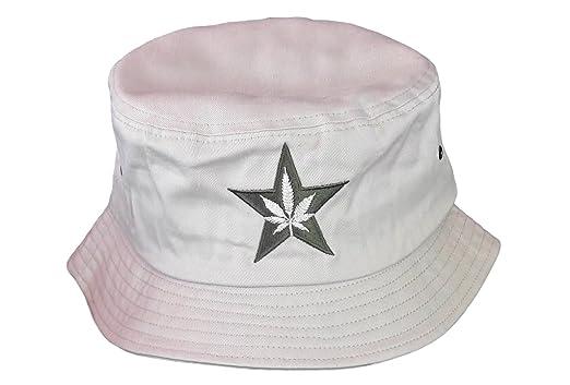 8de27230845 Amazon.com  American Green Bucket Hat - Stone  Clothing