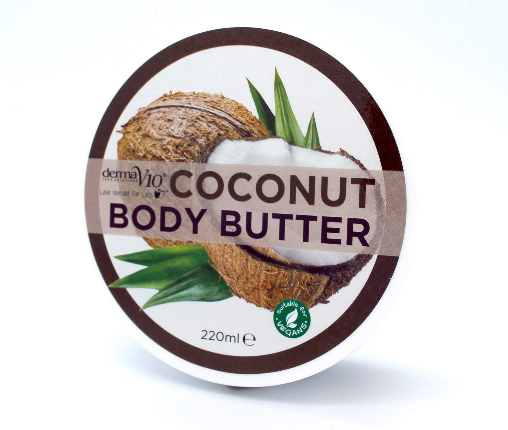 Derma V10 COCONUT Body Butter 220ml