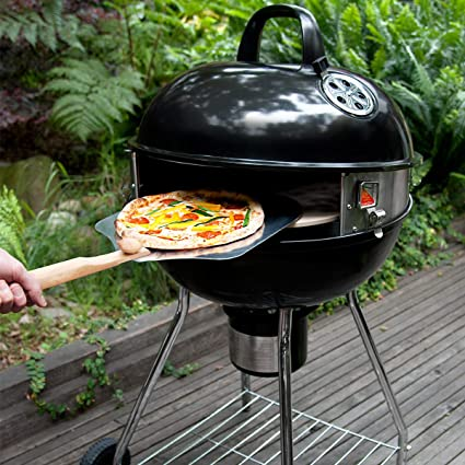 Amazon.com: Pizzacraft PC7001 PizzaQue Deluxe Outdoor Pizza Oven Kettle  Grill Conversion Kit: Garden U0026 Outdoor