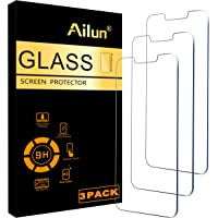 Ailun Glass Screen Protector Compatible for iPhone 13 mini [5.4 Inch] Display 2021 3 Pack Tempered Glass