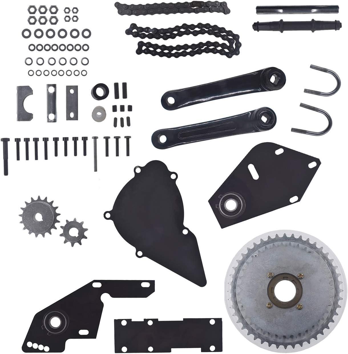 WENYU - Kit de Cambio motorizado para Bicicleta, Cadena 415, 66 CC ...