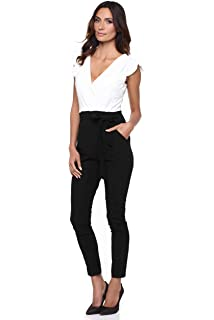 7e753000f3f56 CREATIONS DOUCEL Josefine Combinaison Pantalon Ref. Seven: Amazon.fr ...
