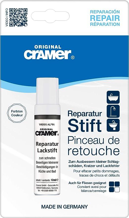 Cramer Enduit De Reparation Pour Sanitaires Blanc Alpin Enduit