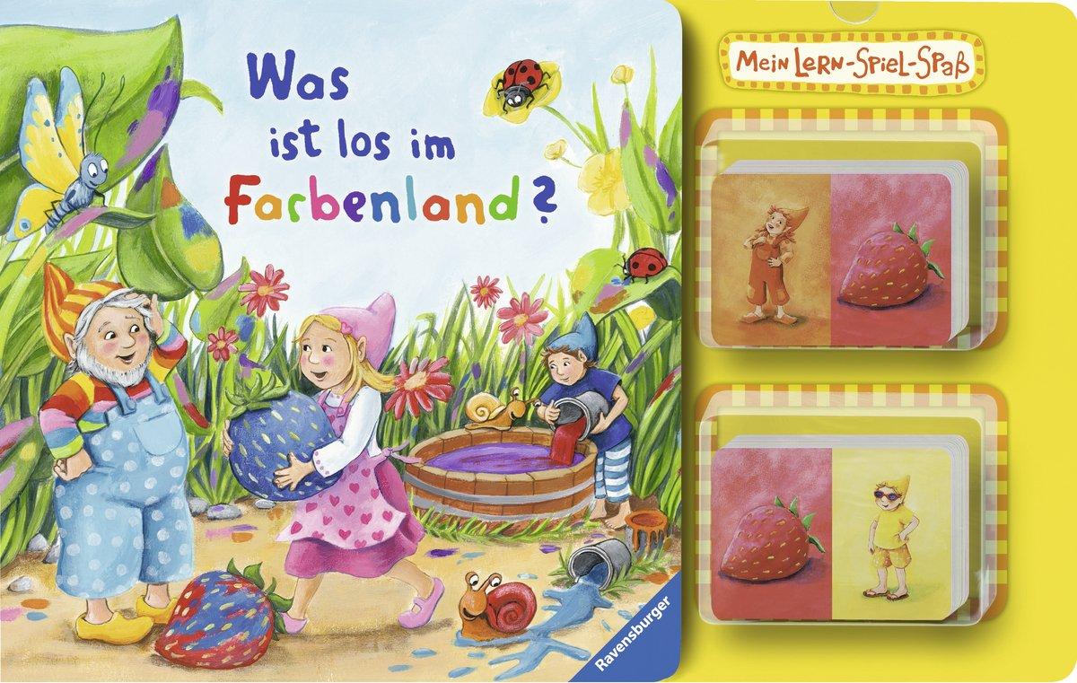 Mein Lern-Spiel-Spaß: Was ist los im Farbenland?
