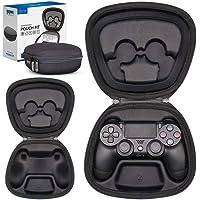Sisma Game Controller Hoesje voor PS4 Officieel DualShock 4 Wireless Controller, Hardshell-doos Beschermhoes - Zwart