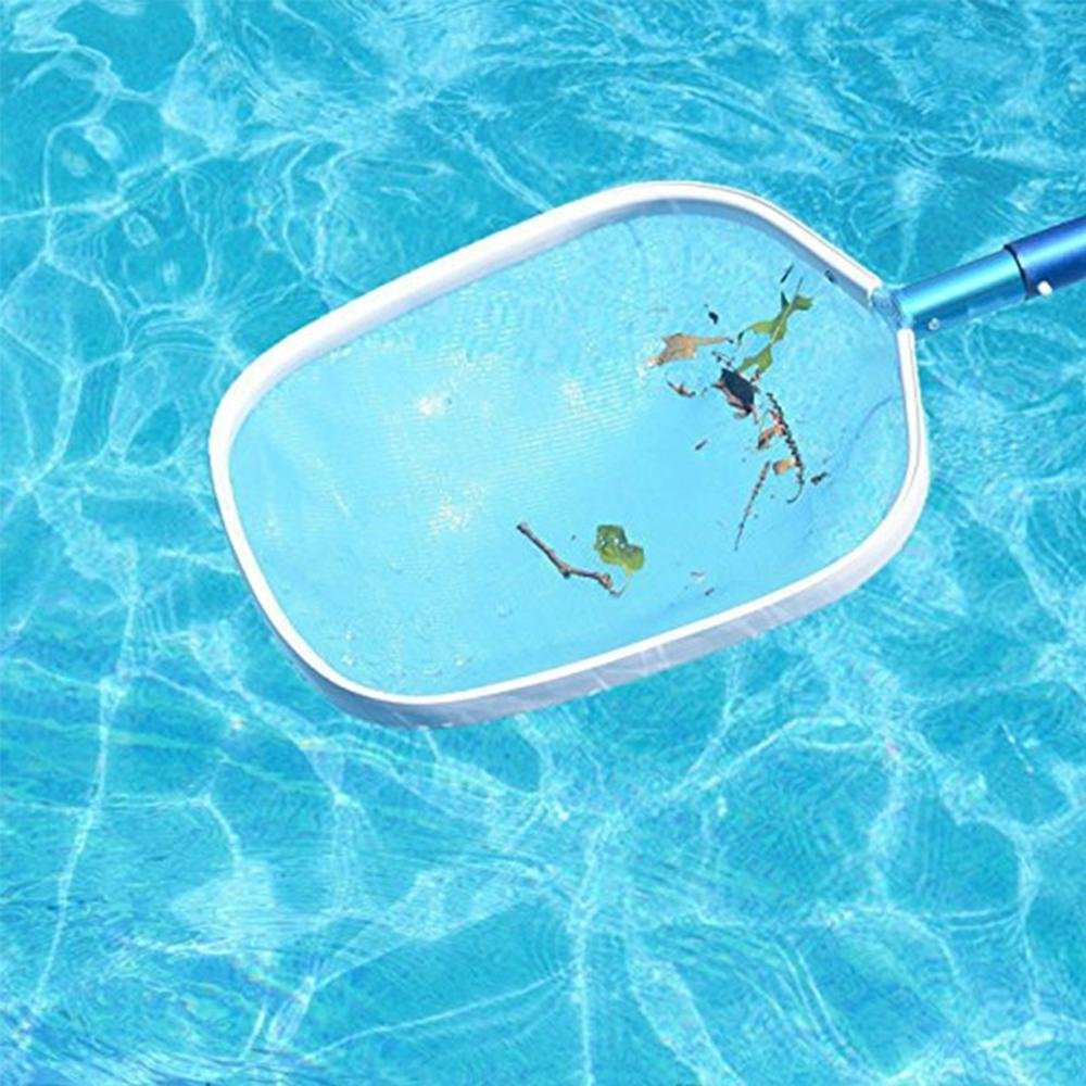 Aolvo retino da piscina per la pulizia delle foglie Retino per piscina retino per foglie per piscina resistente forniture e accessori per spa e piscina Aluminum