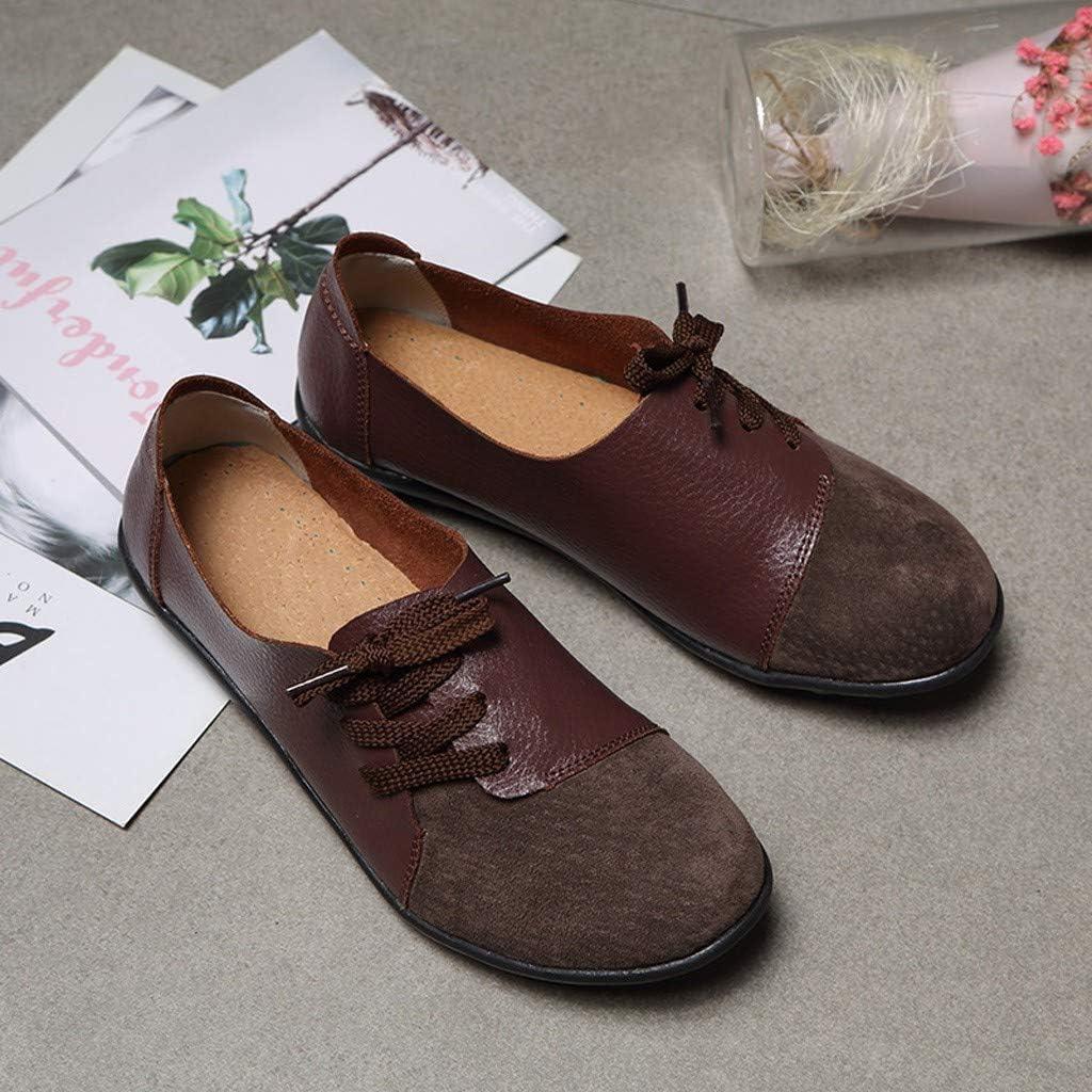 Miuye yuren Ladies Leather Soft Flat Boat Shoes Loafers Sneakers Waterproof Ankle Rain Boots