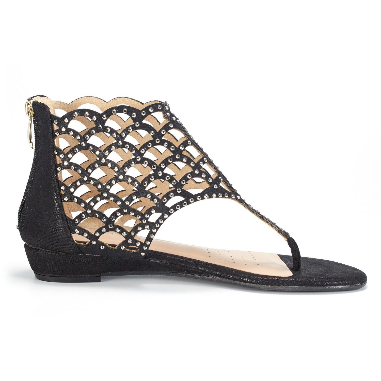 7f3b2c810 Women JEWEL 08 DREAM PAIRS Women s Jewel Rhinestones Design Ankle High Flat  Sandals