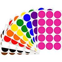 Royal Green Organization Color Coding Dot Labels 30mm (1.25 in) - 150 Pack