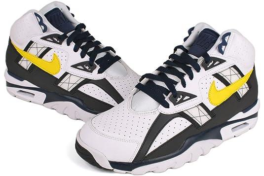 Amazon.com | Nike Air Trainer SC High Mens Cross Training Shoes 302346-110  White 7.5 M US | Fitness & Cross-Training