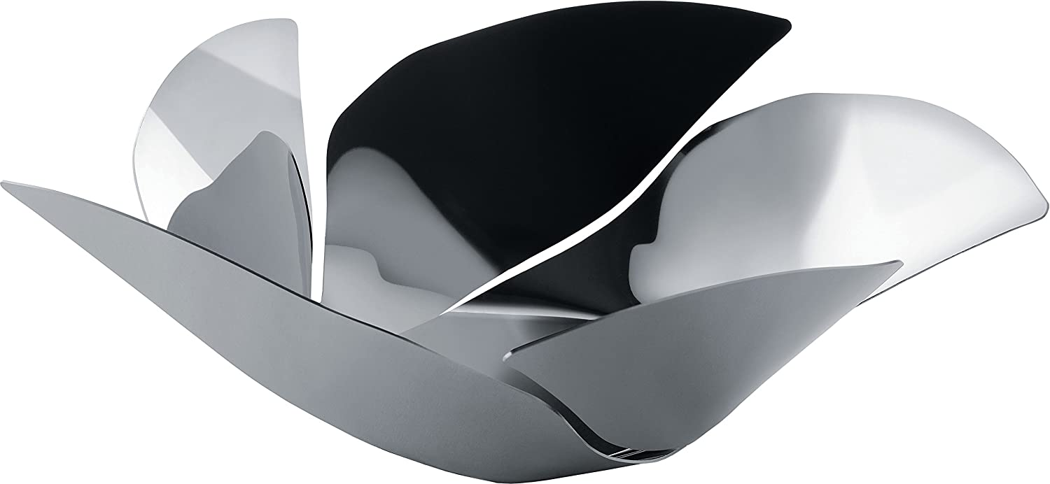 Alessi OD02/29 Twist Again Fruit Holder in 18/10 Stainless Steel Mirror Polished, Silver