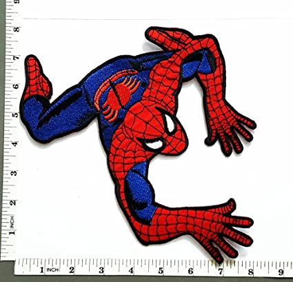 Big Jumbo Large Huge Spiderman Web Superhero Cartoon Movie Logo Patch Jacket T