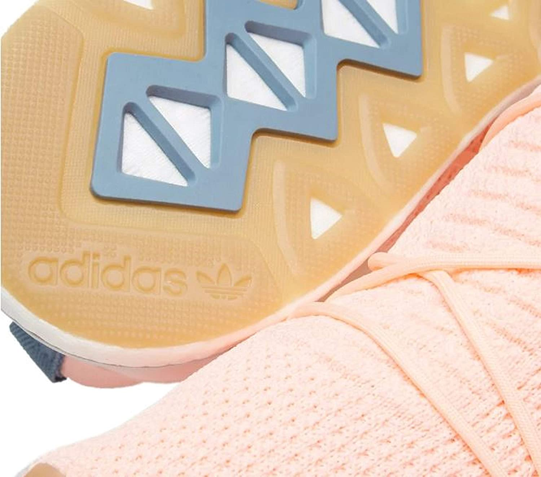 7f4e2b43aec adidas Originals Women's ARKYN Primeknit Boost Shoes (10 M, Clear  Orange/Clear Orange/Linen)