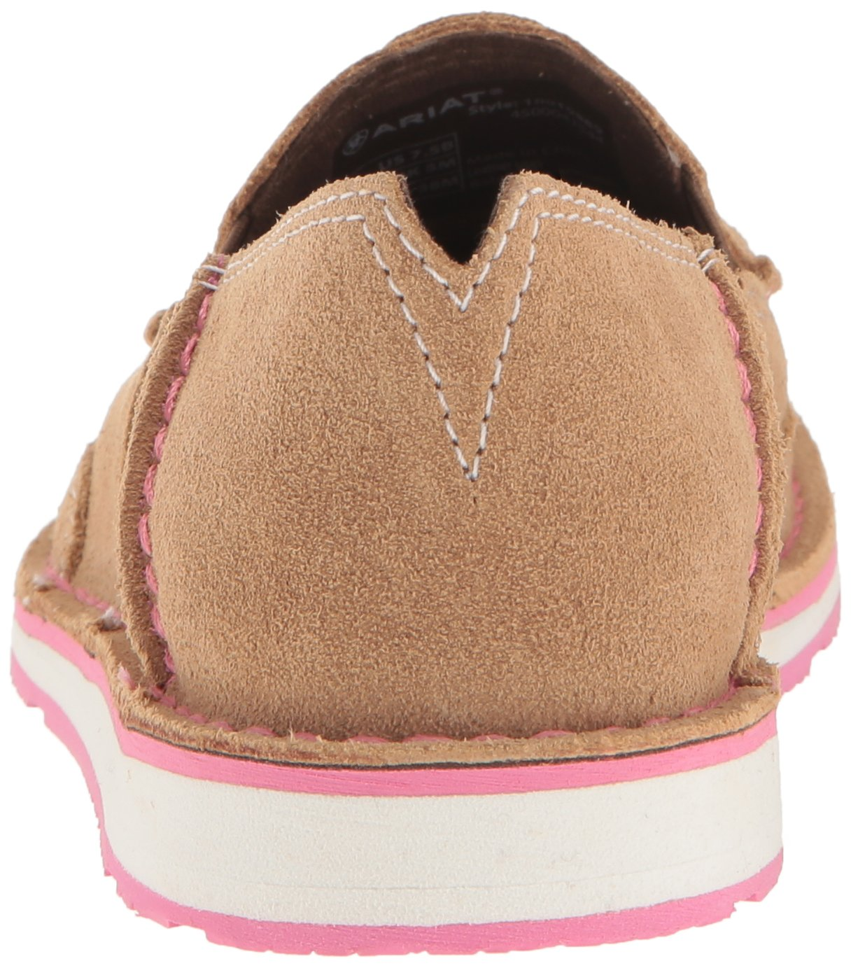 Ariat Women's Cruiser Slip-on Shoe B01L91L1JC 7.5 B(M) US|Dirty Taupe Suede