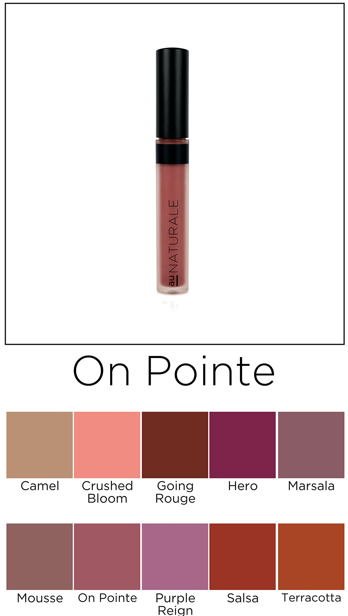 Au Naturale su/Stain Lip Stain in On Pointe | Vegan | Organic | Made in USA by Au Naturale (Image #5)