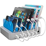 Hercules Tuff USB Docking Station Compatible with Samsung, Apple & Tablet Dock 6 Mixed Short Compatible Cables Included - iPh