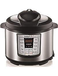 Instant Pot LUX60V3 V3 6 Qt 6-in-1 Multi-Use Programmable Pressure Cooker, Slow Cooker, Rice Cooker, Saut, Steamer, and...