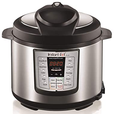 Instant Pot LUX60V3 V3 6 Qt 6-in-1 Multi-Use Programmable Pressure Cooker, Slow Cooker, Rice Cooker, Saut, Steamer, and Warmer (Certified Refurbished)