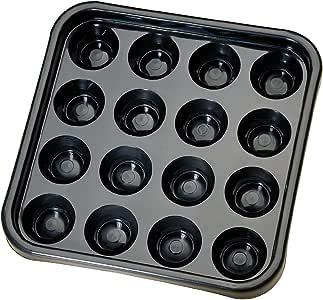 Pro Series BT Negro tamaño del Reglamento de plástico Bandeja de Billar Bola Llevar: Amazon.es: Deportes y aire libre