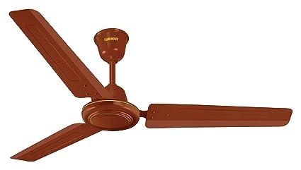 Buy luminous pulse 50 1200mm 50 watt ceiling fan matt brown online luminous pulse 50 1200mm 50 watt ceiling fan matt brown aloadofball Images