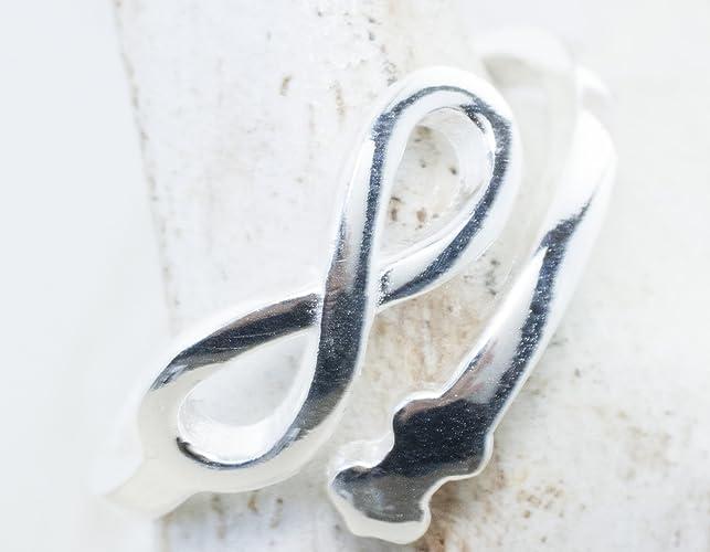 """Corte láser anillo INFINITO. Ajustable y resistente"""""""