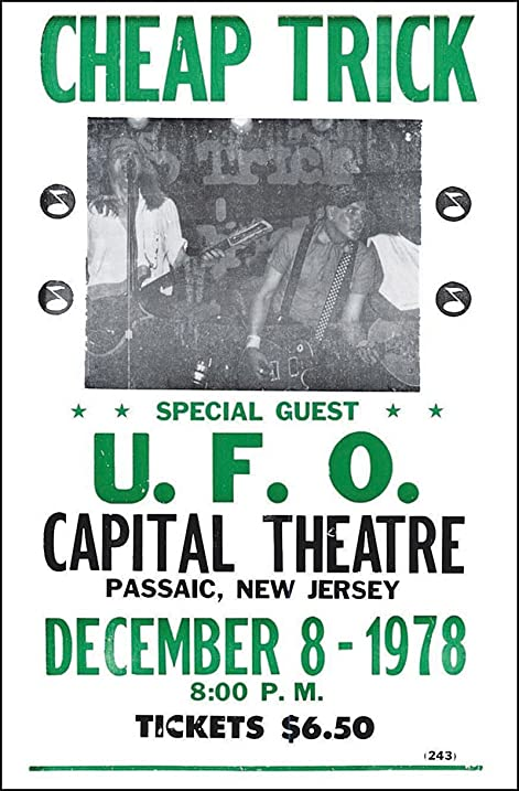 amazon com cheap trick 14 x 22 vintage style concert poster