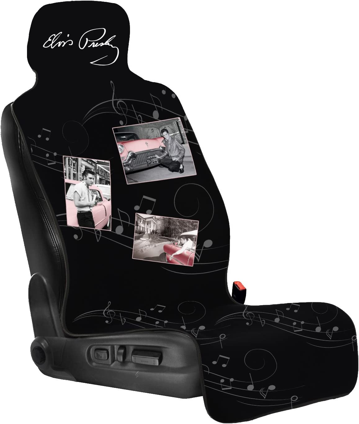 Elvis Presley CarsCover Custom Print Design Car SUV Truck Low Back Seat Covers