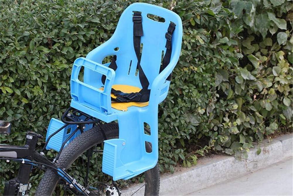 JHKGY Bicicleta Niños Niño Niño Asiento Trasero Portabebés,Cinturón De Seguridad Completo, con Rejillas para Pasamanos,Fit Kids (Baby Through Toddler) 8 Meses - 6 Años: Amazon.es: Deportes y aire libre