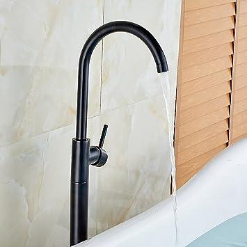 Votamuta Single Lever Floor Mounted Bathroom Tub Shower Faucet ...