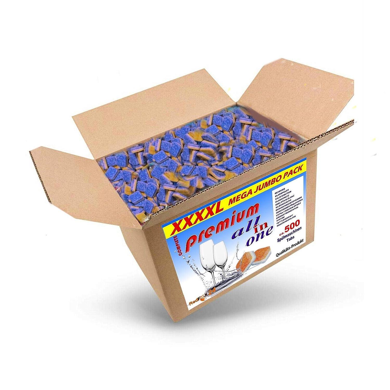 10 kg (aprox. 500 unidades) pastillas para lavavajillas 12 en 1 ...