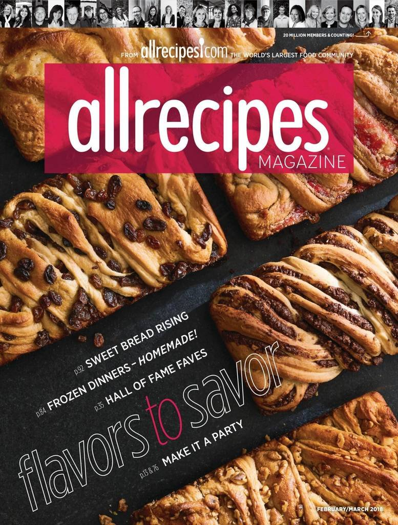 AllRecipes Print Magazine