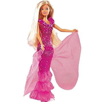 b7979486e2d5 Steffi Love, 29cm Ankleidepuppe, in traumhaftem Kleid, komplett in ...