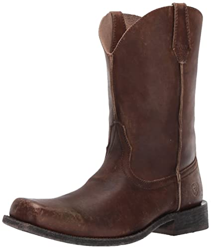 81048fd7cf3 Ariat Men's Rambler Leather Sole Western Cowboy Boot