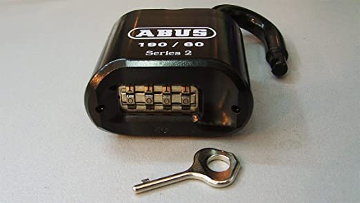 f974e73be741 ABUS 190CS/60 High Security Solid Steel Combination Padlock - Closed Shackle