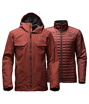 87d9b343bec0 Men s The North Face Initiator Thermoball Triclimate Jacket Hot Chocolate  Brown Medium