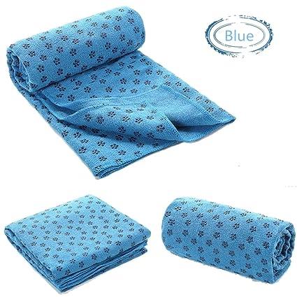 Amazon.com : QUBABOBO Yoga Mat Towel-Superfine Fiber 72