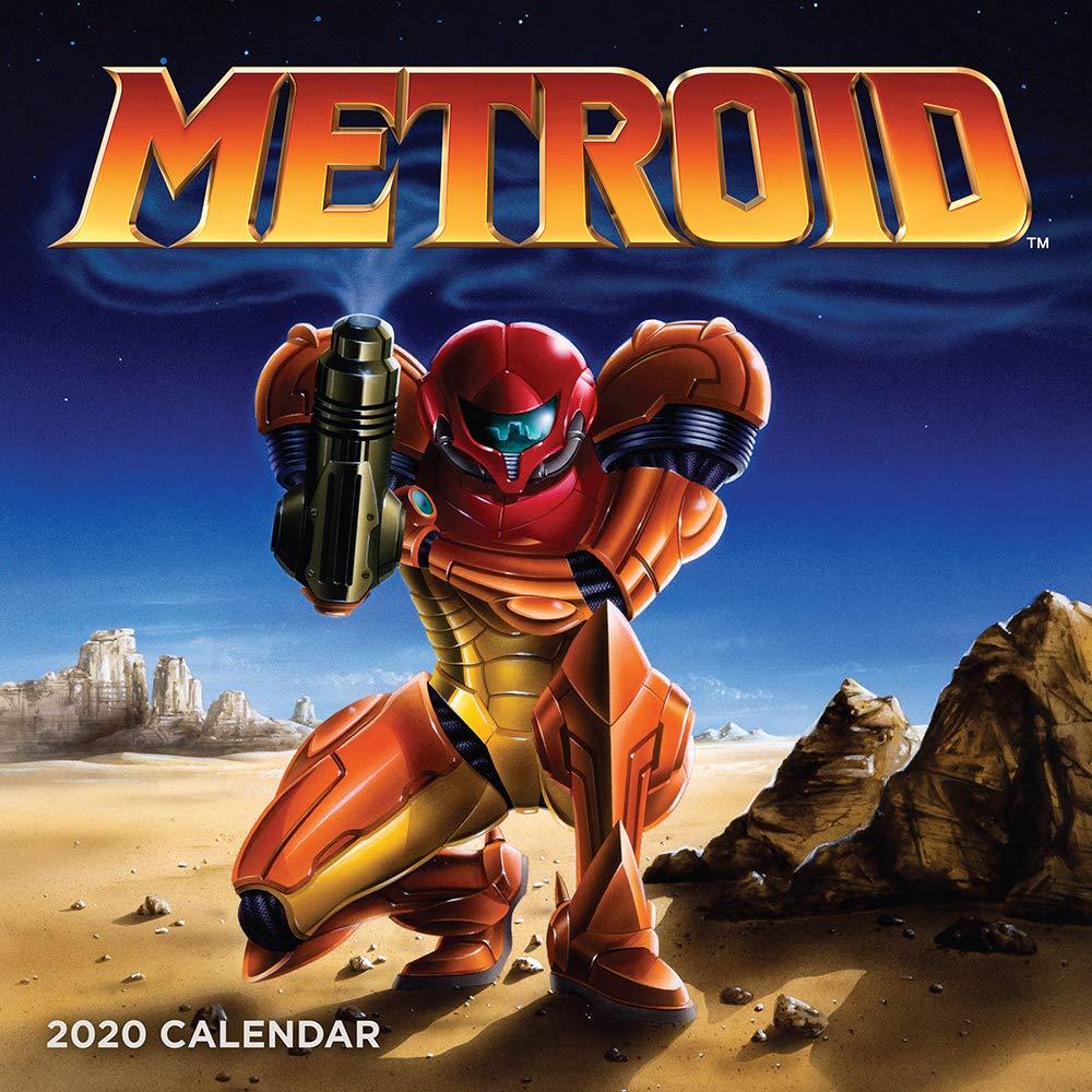 Movie Calendar 2020 Metroid 2020 Wall Calendar: Nintendo: 9781419736704: Amazon.com: Books